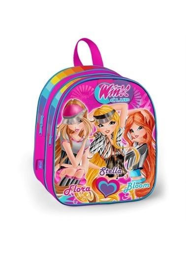 Winx Club Winx Kız Çocuk Rengarenk Anaokulu Çantası (Yaygan 63252) Renkli